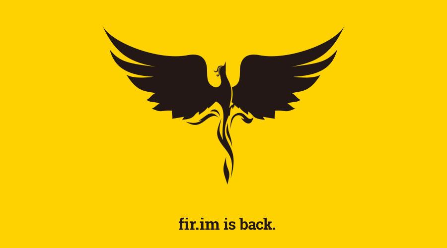危机32小时后,fir.im is back